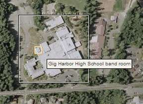 Gig Harbor High School on Wikimapia