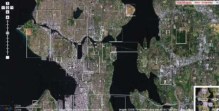 Seattle on Wikimapia