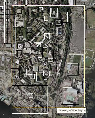 The University of Washington on Wikimapia