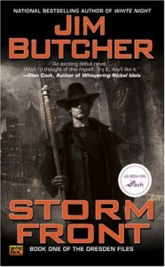Storm Front: The Dresden Files by Jim Butcher